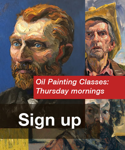 Thursday Oil Painting Classes (Every Thursday)