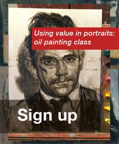 Bringing Value Awareness to Portraits. Live broadcast, (3) Saturdays, July 11th, 18th, 25th, 10:30am (MST)