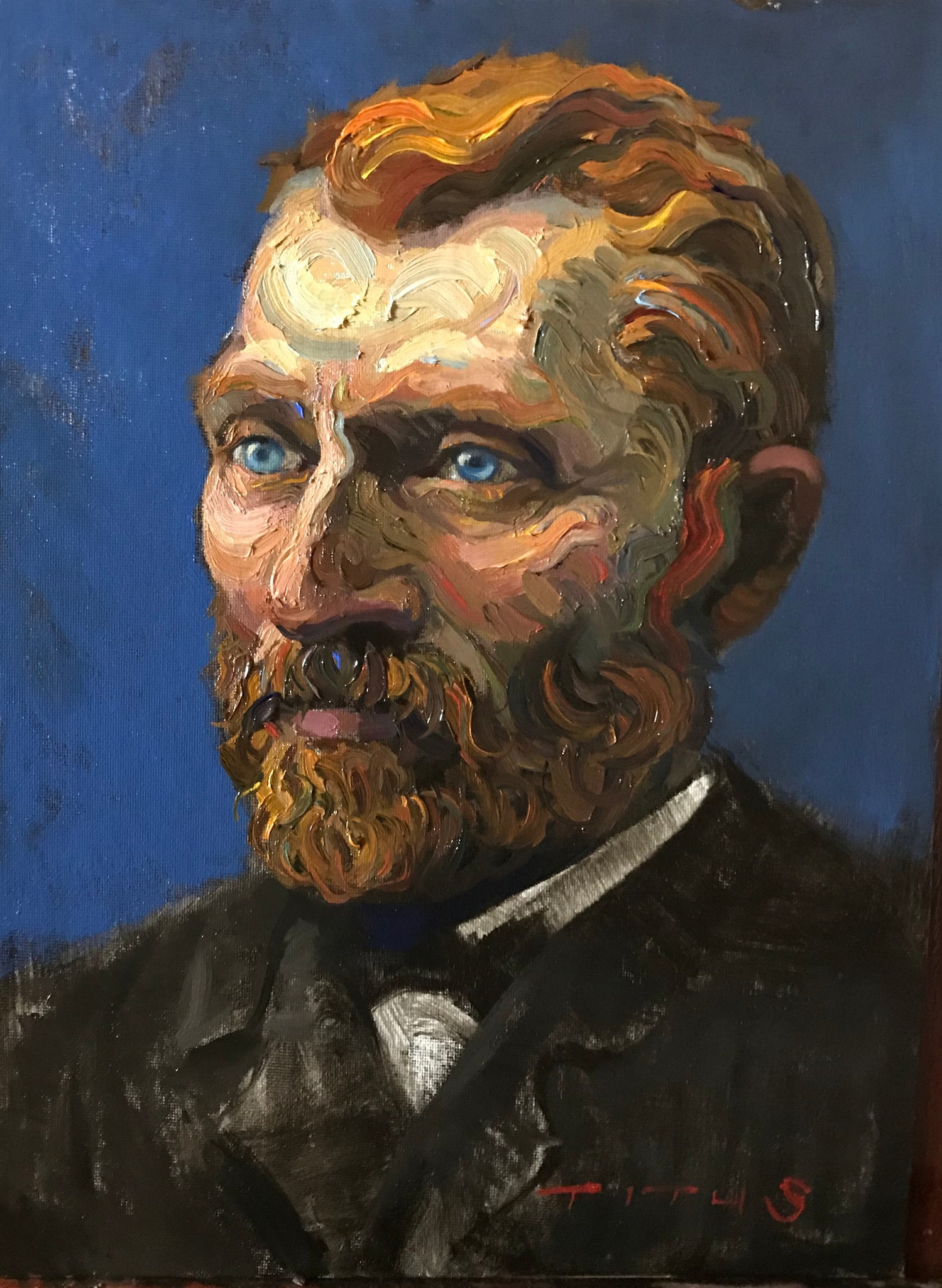 Van Gogh, 12x16 inches
