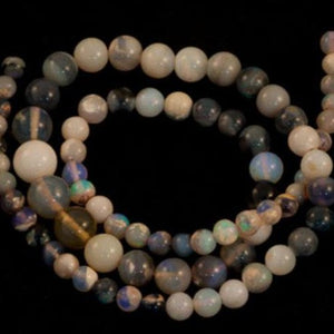 Product No.215 - Lightning Ridge Beads
