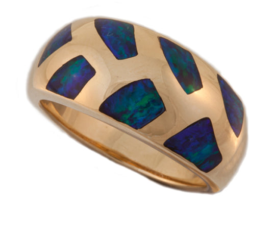Product No.239 - Mintabie Gem Inlay Ring