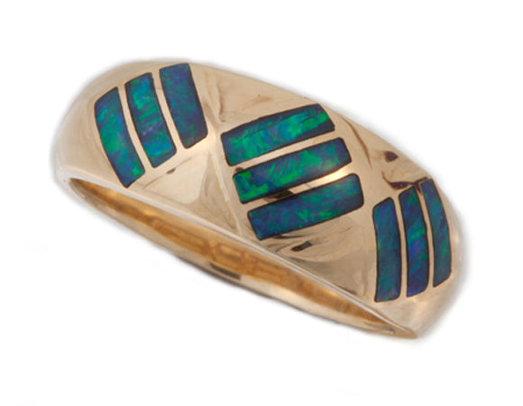 Product No.242 - Mintabie Inlay Ring