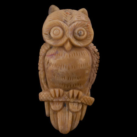 Product No.255 - Opal Owl Carving