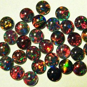 Opal Triplets 6mm round