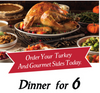 6 Guest Turkey Feast