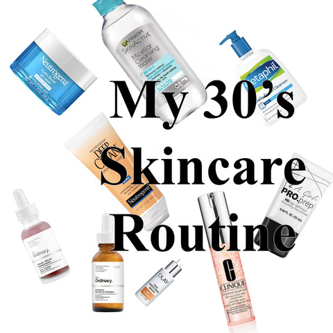 Beauty Bag: My current 30's skincare