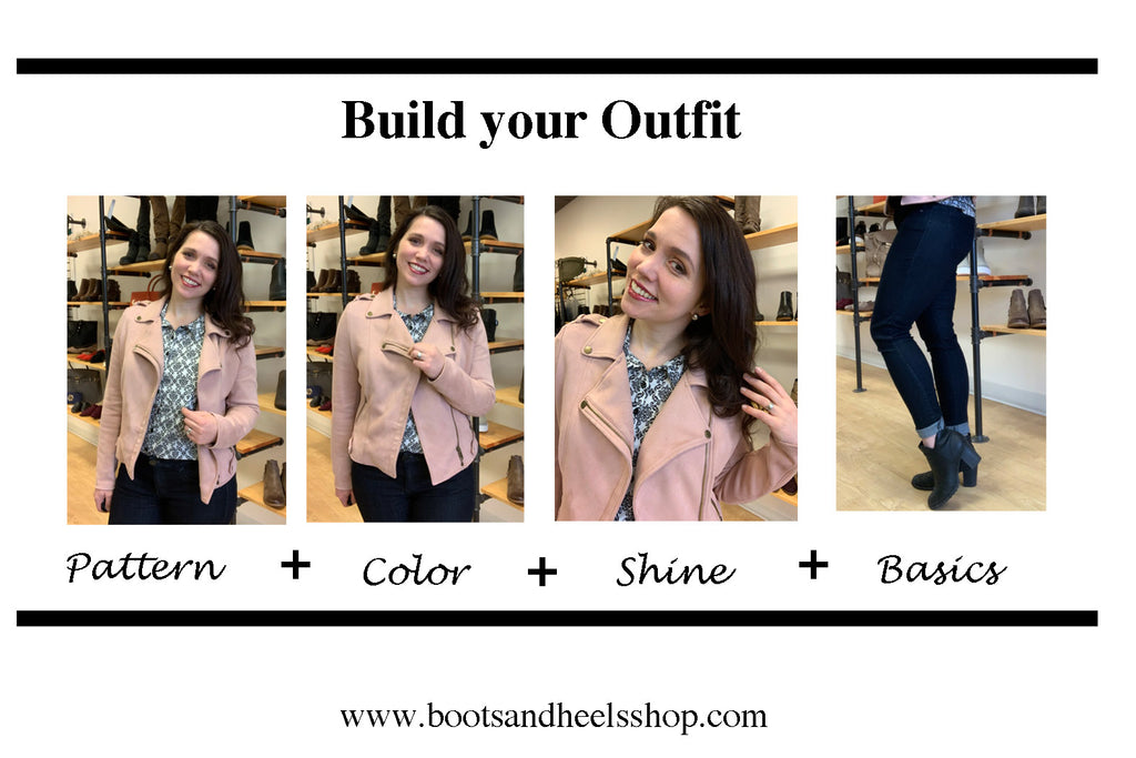 Outfit Formula: Pop of Color Casual