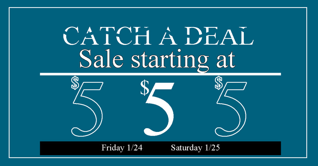 Catch It Sale Going on This Weekend in Devils Lake