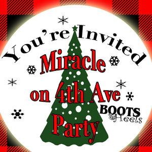 Miracle on 4th Ave Party Recipes