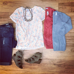 Outfits we are LOVING! Sweet floral