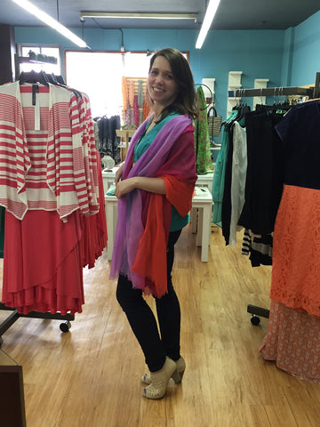 5 ways to wear scarves as a shawl for special occasions