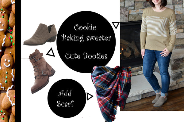 Cookie backing outfit