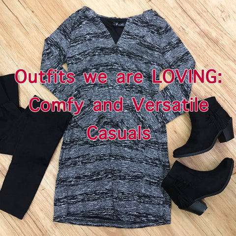 Outfits we are LOVING: Comfy, versatile casuals