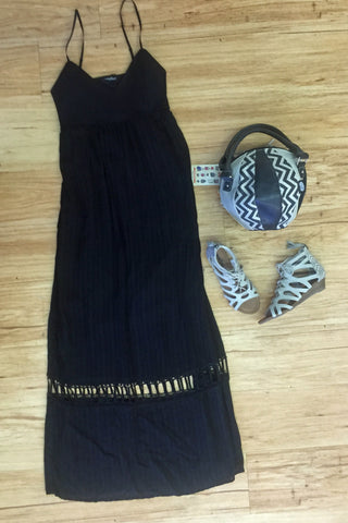 Outfits we are loving! Fun & Flirty Dress with IT bag