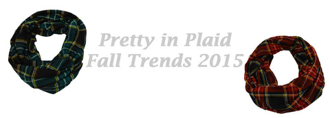Pretty in Plaid Fall 2015 Trends