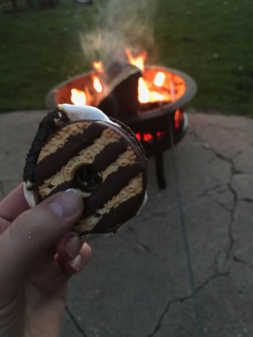 Mom check out s'mores