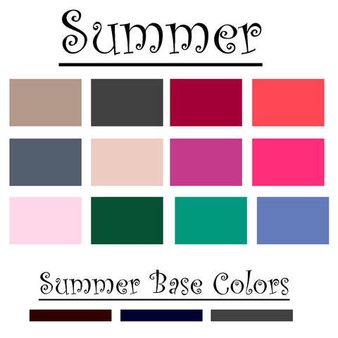 Summer Color Palatte