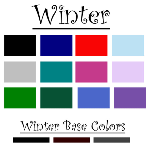 Winter Color Palatte