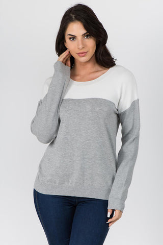 Survival Megan Color Block Sweater