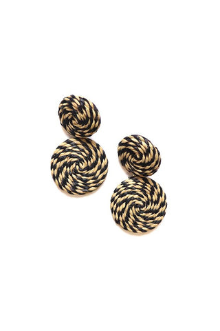 Panache Wicked Wicker Earring