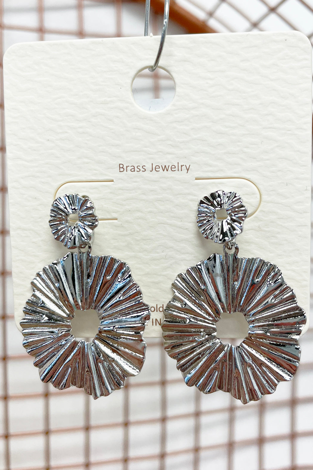 Metal Statement Earrings