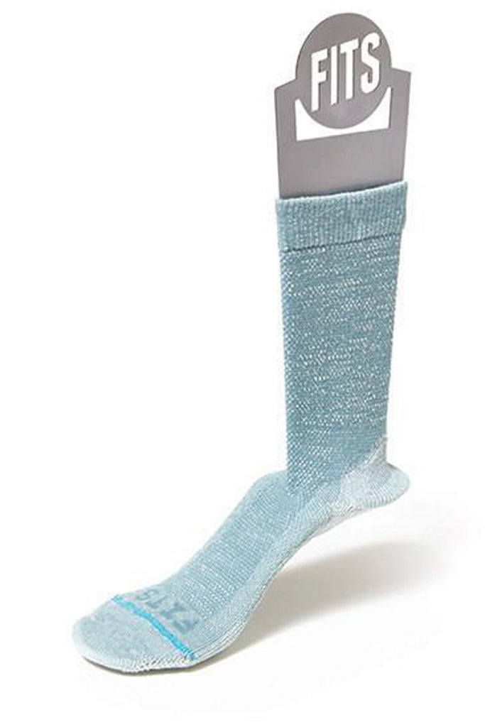 Light Rugged Crew Sock - Mineral Blue