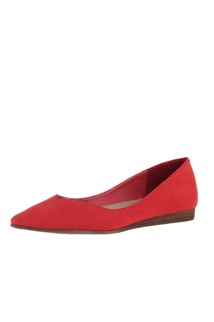 Lily Red ballet flat