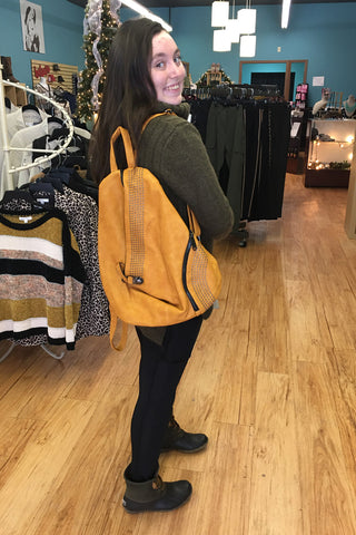 Brynna Backpack Tan