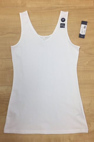 Downeast Reversible Tank-White