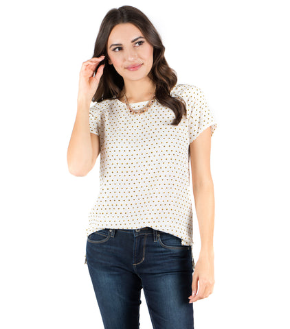 Aura Blouse - Diamond