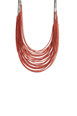 Z Mermaid Coral Reef Beads Neckl