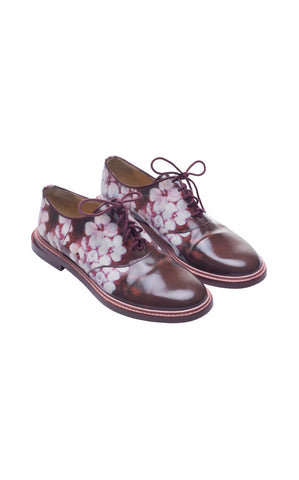Band of Outsiders Floral Oxfords - REDUCED