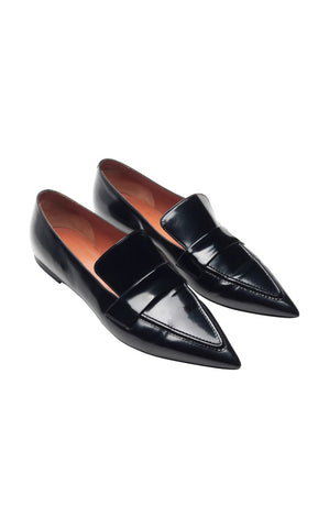 Celine Pointed-Toe Loafers