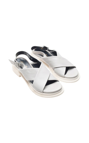 Robert Clergerie Calientek Crisscross Sandals - REDUCED