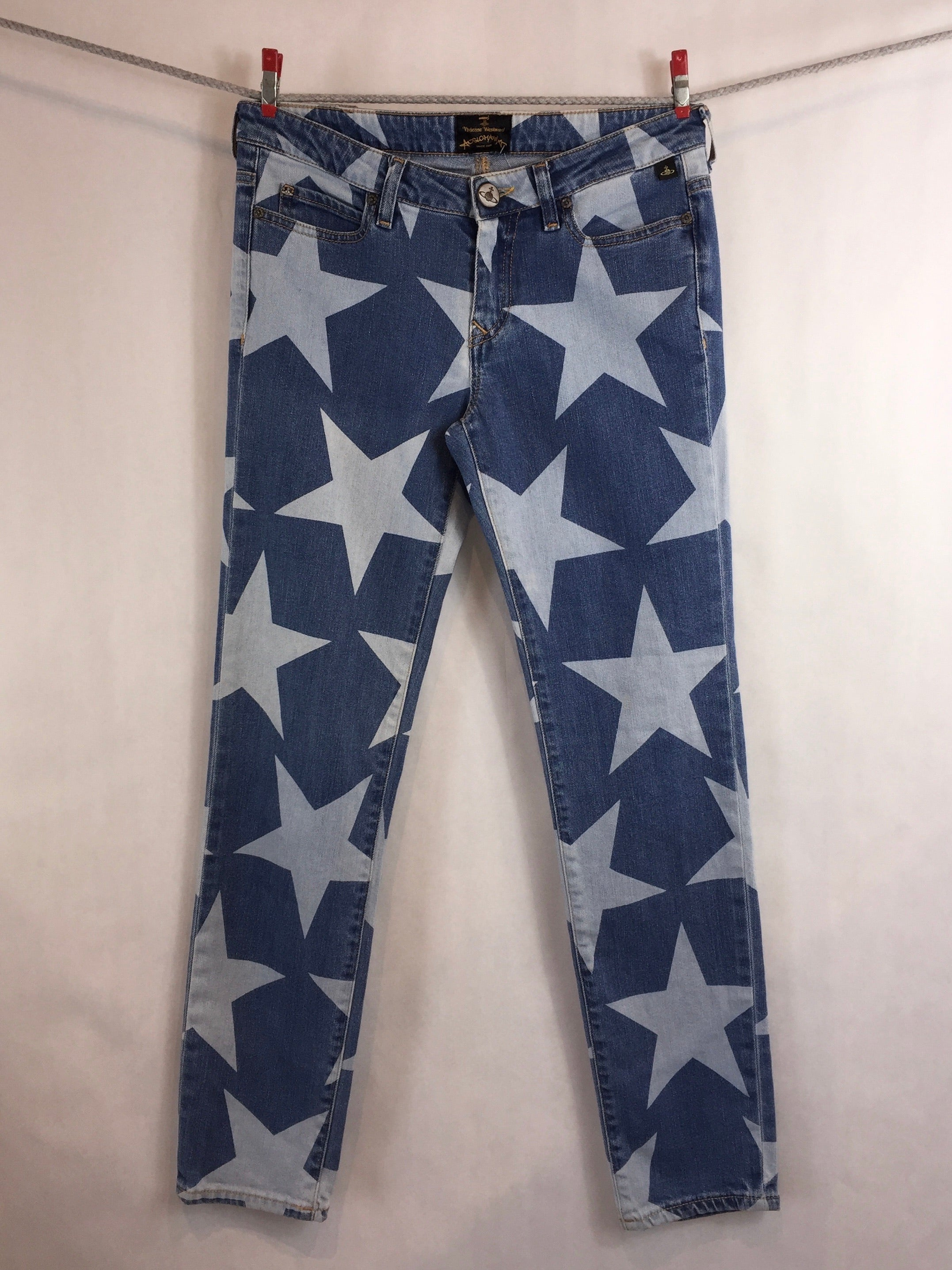 Skinny Jeans with Stars