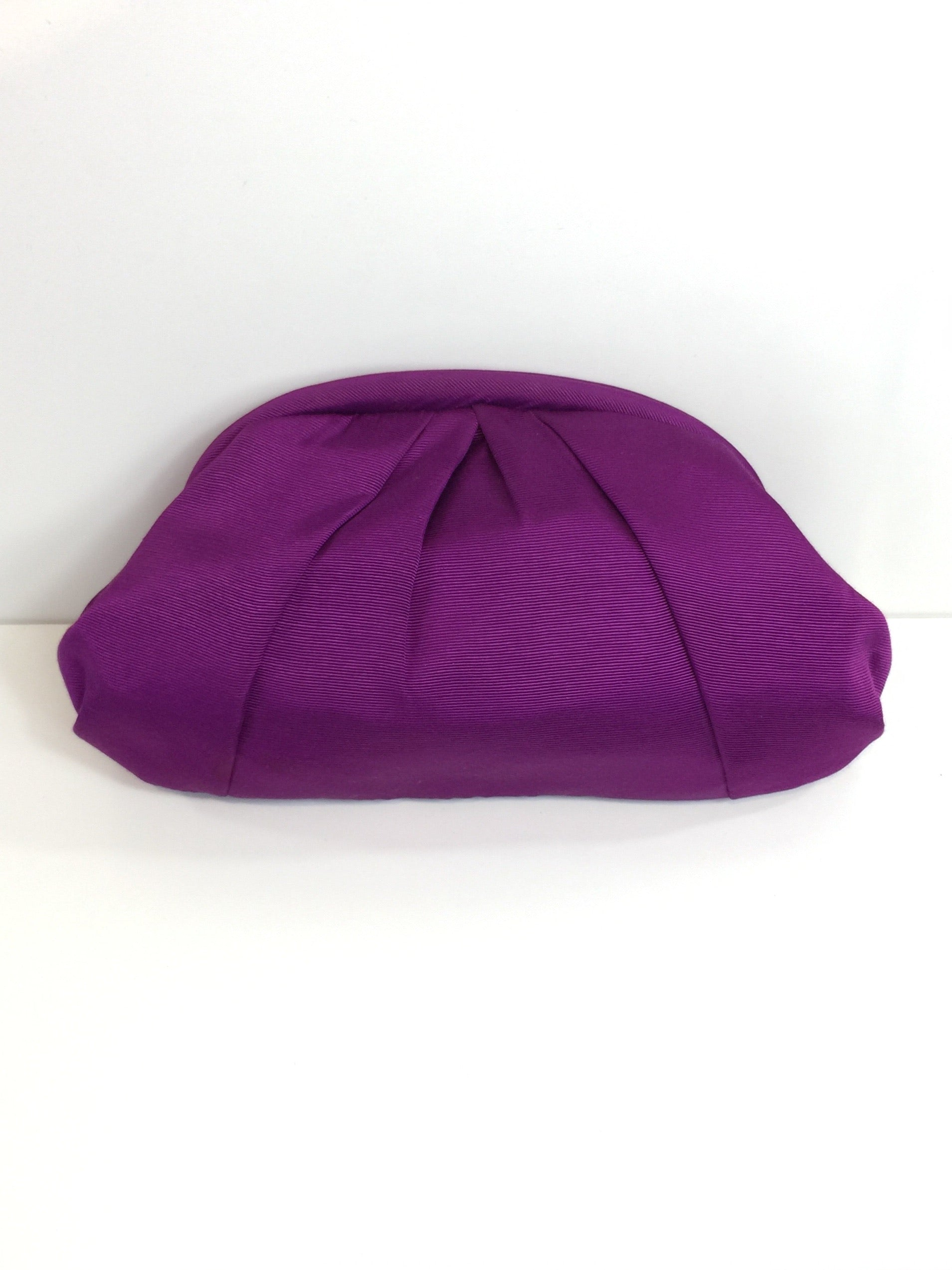 Purple Grosgrain Clutch