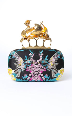 Alexander McQueen Hummingbird Knuckle Clutch
