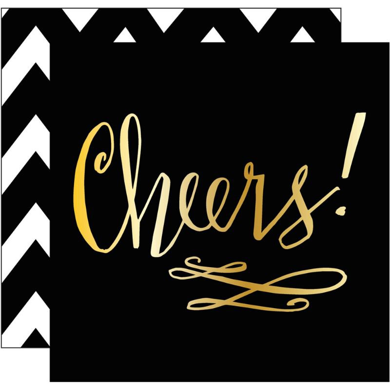 Cheers! Beverage Napkins