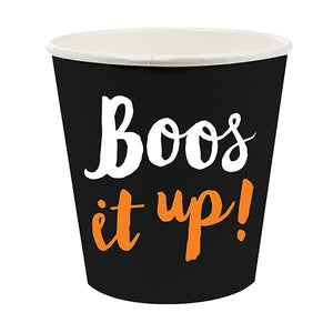 """Boos it Up"" Paper Shot Cups"