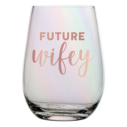 Future Wifey Wine Glass