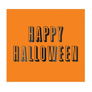 Happy Halloween Foil Beverage Napkins, 20 ct.