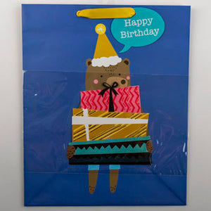 Gift Bag - Birthday Bear