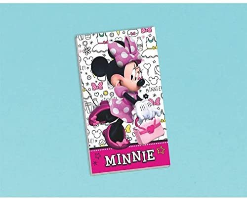 Minnie Mouse Notepad Favors
