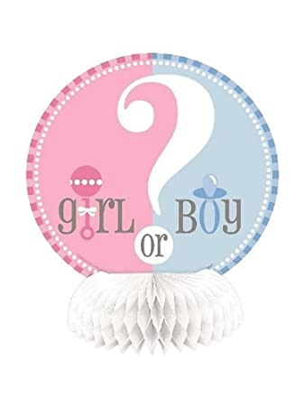 Girl or Boy Honeycomb Decorations