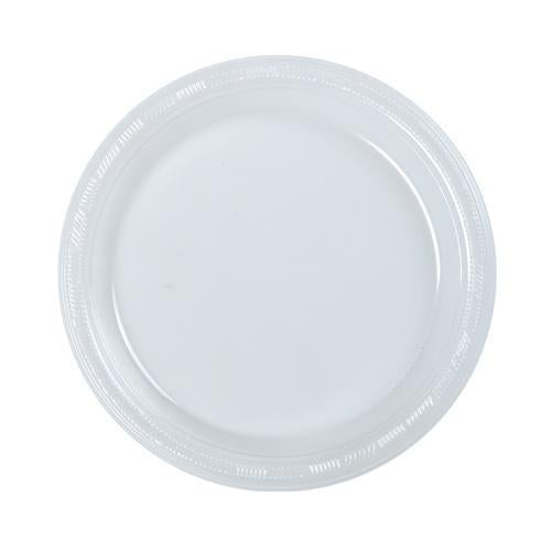 "Clear 7"" Plates 50ct."