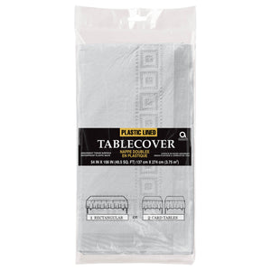 Plastic Lined Tablecover