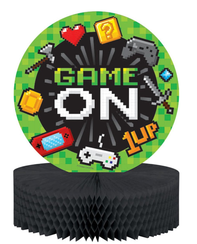 Game On Honeycomb Centerpiece