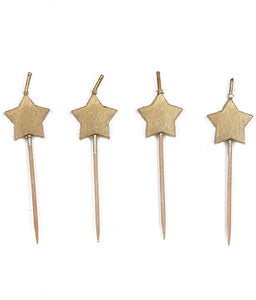 Gold Star Candles