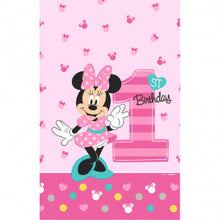 Load image into Gallery viewer, Minnie Mouse 1st Birthday Tableware