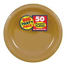 Load image into Gallery viewer, Party Pack Plastic Dessert Plates 50ct